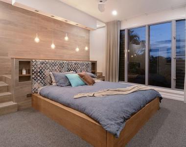 American Oak Bed Frame