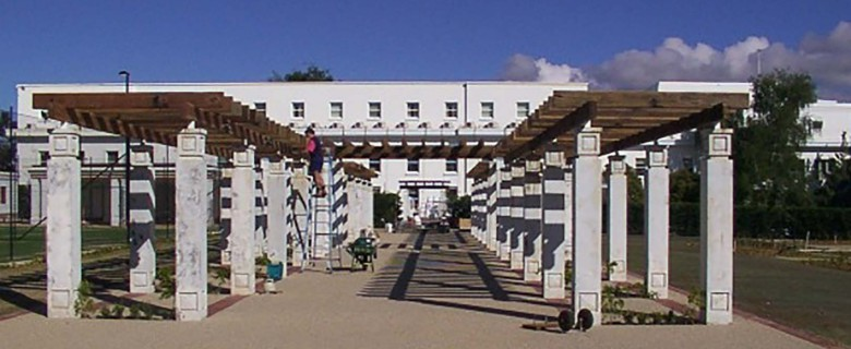 Parliament House Rose Garden