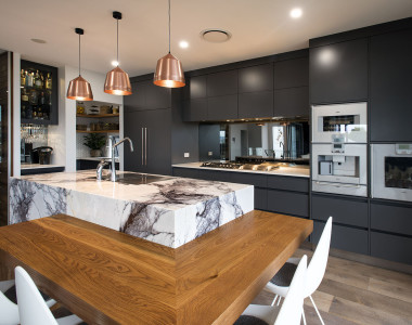 American Oak Kitchen